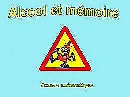 diaporama pps Alcool et mémoire