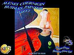 diaporama pps Alexei Chernigin 1975 russian painter part 2