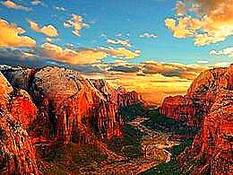 diaporama pps Angels Landing à Zion USA