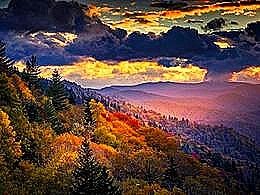 diaporama pps Appalachian mountains autumn USA