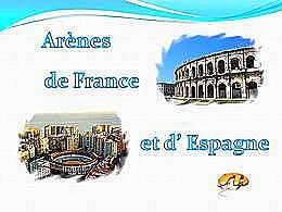 diaporama pps Arènes de France et d'Espagne