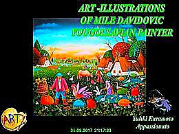 diaporama pps Art ilustrations Mile Davidovic