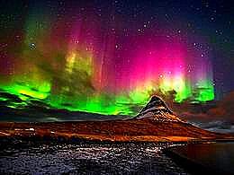 diaporama pps Aurora Iceland