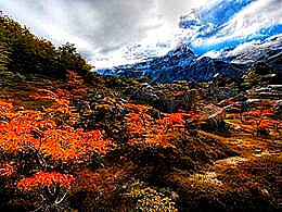 diaporama pps Autumn in Patagonia – Argentina – Chile
