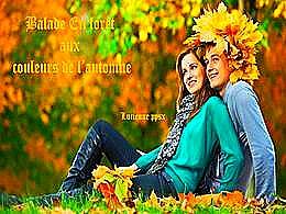 diaporama pps Balade en forêt aux couleurs de l'automne