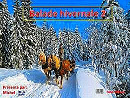 diaporama pps Balade hivernale 2