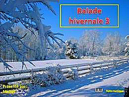 diaporama pps Balade hivernale 3