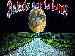 diaporama pps Balade sur la lune