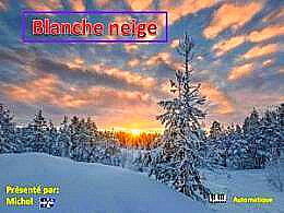 diaporama pps Blanche neige