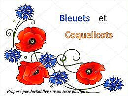 diaporama pps Bleuets et coquelicots