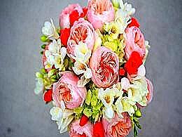 diaporama pps Bouquets de décoration – Plaisir des yeux