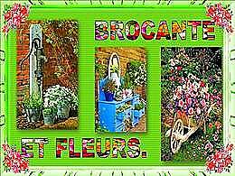 diaporama pps Brocante et Fleurs