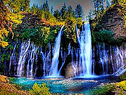 diaporama pps Burney falls USA