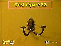diaporama pps C'est réparé 22