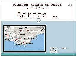 diaporama pps Carcès village du Var