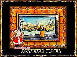 diaporama pps Carte de Noël – Minions