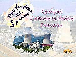 diaporama pps Centrales nucléaires françaises