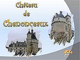 diaporama pps Château de Chenonceaux