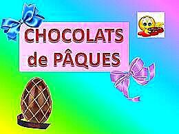 diaporama pps Chocolats de Pâques