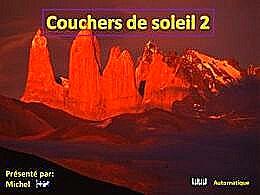 diaporama pps Couchers de soleil 2