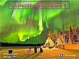 diaporama pps Curiosités de la nature