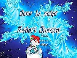 diaporama pps Dans la neige Robert Duncan