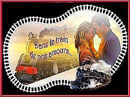diaporama pps Dans le train de nos amours