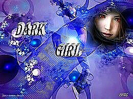 diaporama pps Dark girl