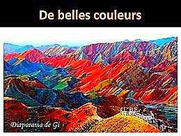 diaporama pps De belles couleurs