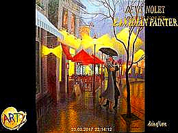 diaporama pps Denis Nolet 1964 canadian painter