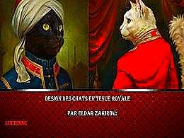 diaporama pps Des chats en tenue royale par Eldar Zakirov