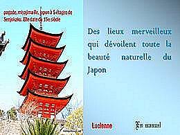 diaporama pps Des lieux merveilleux – Beauté naturelle du Japon