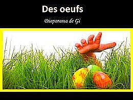 diaporama pps Des œufs