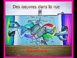 diaporama pps Des œuvres dans la rue