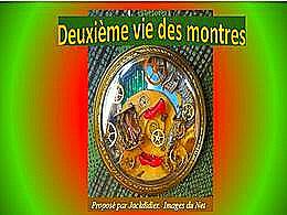 diaporama pps Deuxième vie des montres