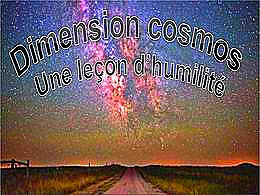 diaporama pps Dimensions cosmos