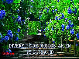 diaporama pps Diversité de photos 4K en ultra HD