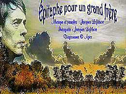 diaporama pps Épitaphe pour un grand frère