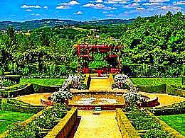 diaporama pps Eyrignac gardens France