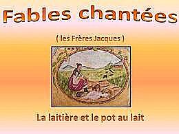 diaporama pps Fables chantées 5