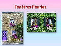 diaporama pps Fenêtres fleuries