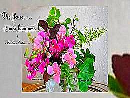 diaporama pps Fleurs et bouquets