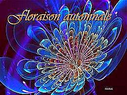 diaporama pps Floraison automnale