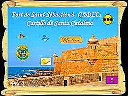 diaporama pps Fort de San Sebastien et Castillo de Catalina
