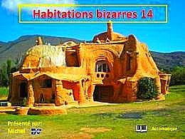 diaporama pps Habitations bizarres 14