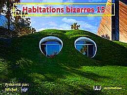 diaporama pps Habitations bizarres 15