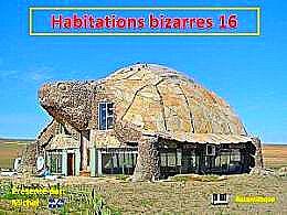 diaporama pps Habitations bizarres 16