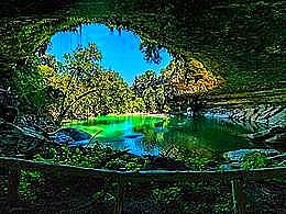 diaporama pps Hamilton Pool Preserve USA