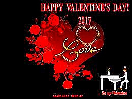 diaporama pps Happy Valentine's day 2017