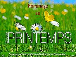 diaporama pps Hommage au printemps